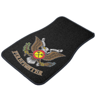 Eagle Firefighter Car Mat