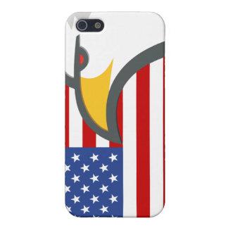 Eagle flag case iPhone 5/5S case