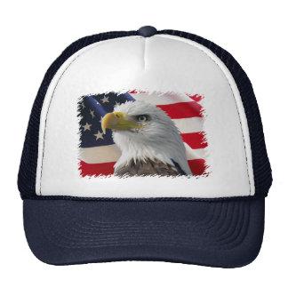 Eagle & Flag Trucker Hats