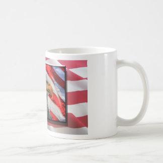 Eagle flag coffee mug