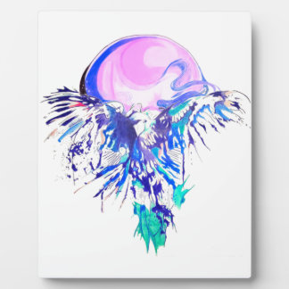 eagle fly plaque