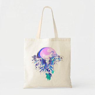 eagle fly tote bag