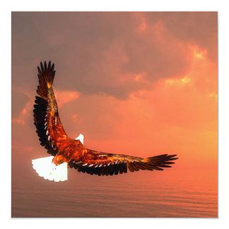 Eagle flying - 3D render Card