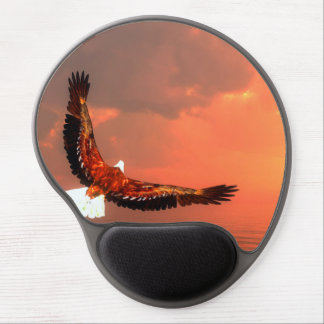 Eagle flying - 3D render Gel Mouse Pad