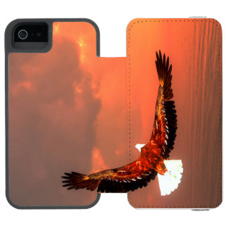 Eagle flying - 3D render Incipio Watson™ iPhone 5 Wallet Case