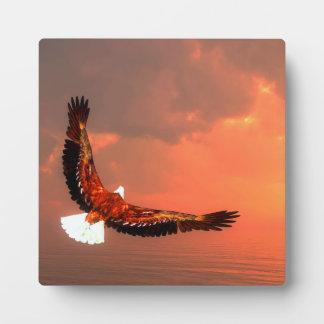 Eagle flying - 3D render Plaque