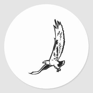 Eagle Flying Stickers