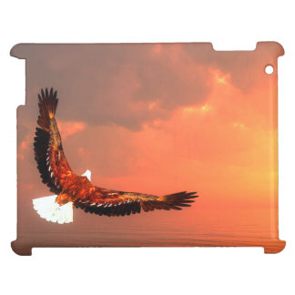 Eagle flying to the sun - 3D render Cover For The iPad