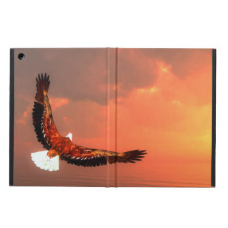 Eagle flying to the sun - 3D render iPad Air Cover