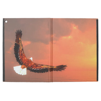 """Eagle flying to the sun - 3D render iPad Pro 12.9"""" Case"""