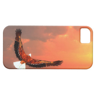 Eagle flying to the sun - 3D render iPhone 5 Case