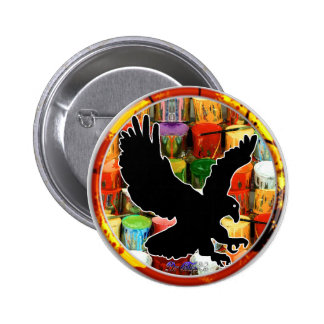 EAGLE GIFT CIRCLE CUSTOMIZABLE PRODUCTS PINBACK BUTTONS