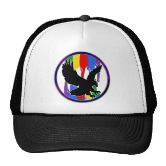 EAGLE GIFT CIRCLE CUSTOMIZABLE PRODUCTS TRUCKER HATS
