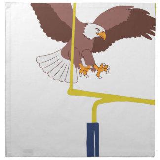 eagle goal post napkin