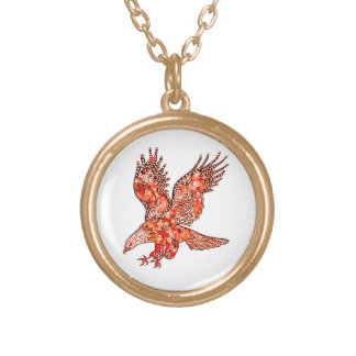 Eagle Gold Plated Necklace