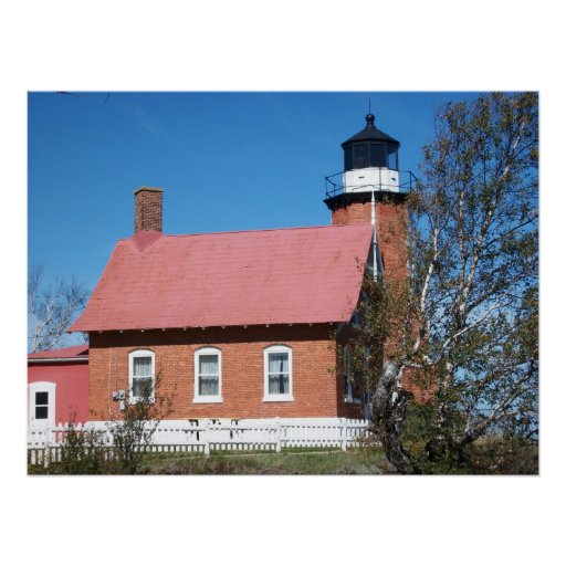 Eagle Harbour Lighthouse Photo Poster