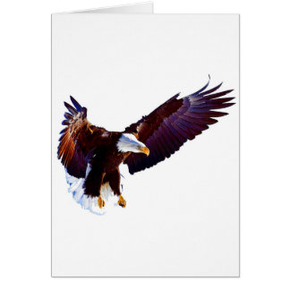 Eagle In Flight Card