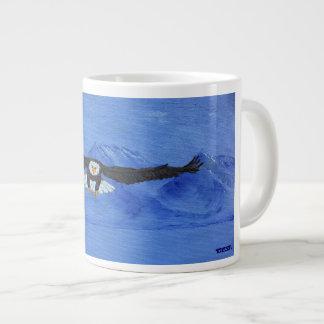 Eagle in Flight Large Coffee Mug