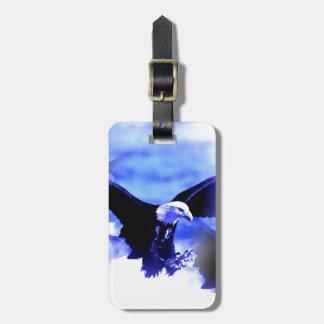 Eagle in Flight Luggage Tag