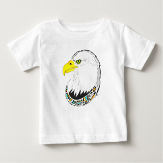 Eagle Ink Drawing Baby T-Shirt