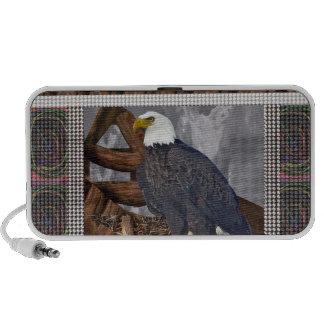 EAGLE King of Bird of Prey North American Habitat Speaker System