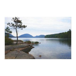 Eagle Lake at Acadia National Park Canvas Print