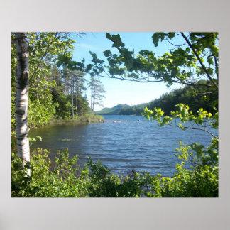 Eagle Lake, Maine, USA Poster
