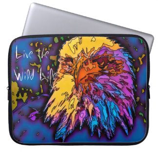 Eagle - Live the Wild Life / Laptop Sleeve