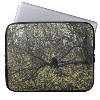 Eagle Lookout Painterly Laptop Sleeve
