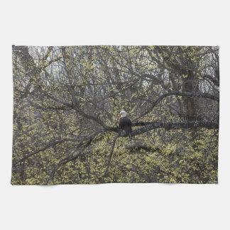 Eagle Lookout Painterly Tea Towel