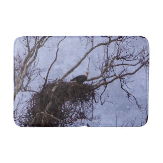 Eagle Lookout Painting Bath Mats
