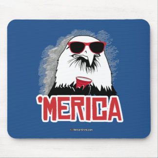 Eagle - 'Merican Party Mouse Pad