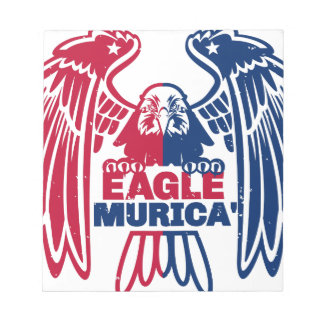 Eagle Murica Notepad
