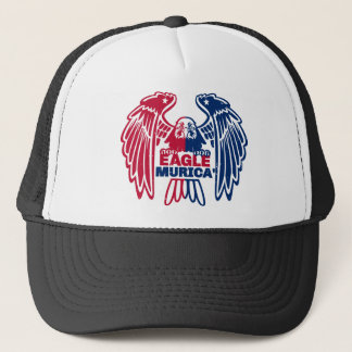 Eagle Murica Trucker Hat