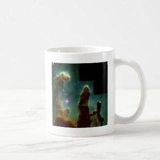 eagle nebula basic white mug