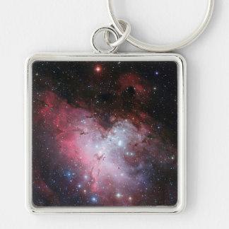Eagle Nebula Key Ring