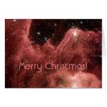 Eagle Nebula, Merry Christmas! Greeting Card