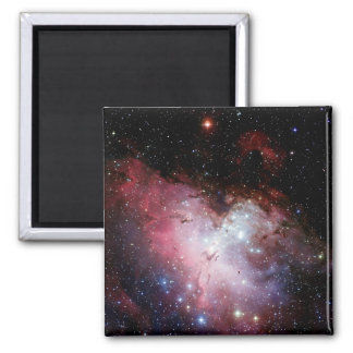 Eagle Nebula (outer space) ~.jpg Square Magnet
