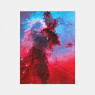 Eagle Nebula Stellar Spire Fleece Blanket