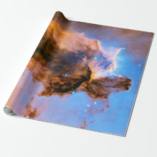 Eagle Nebula Stellar Spire NASA Hubble Space Photo Wrapping Paper