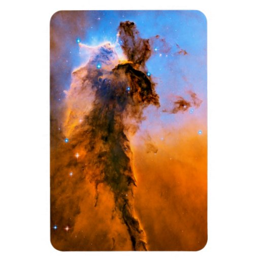 Eagle Nebula Stellar Spire Rectangular Magnets