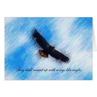 Eagle Notecard