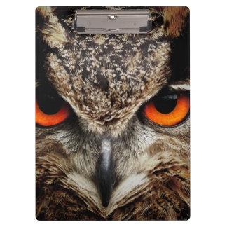 Eagle Owl Clipboard