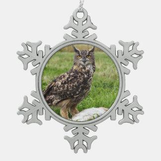 Eagle Owl Ornament
