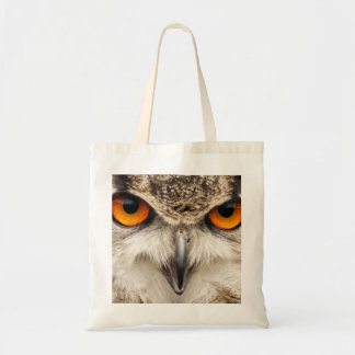 Eagle owl eyes, bag