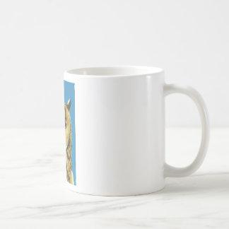 Eagle Owl Face Coffee Mug