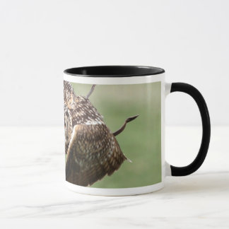Eagle Owl In Flight Mug