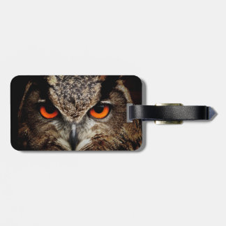 Eagle-Owl Luggage Tag