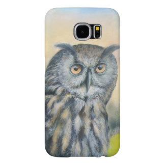 Eagle Owl Samsung Galaxy S6 Cases
