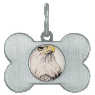 Eagle Pet Tag